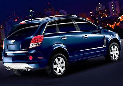 Chevrolet on Chevrolet Lan  A Captiva Em Busca De Mercado E  Imagem    18 08 2008