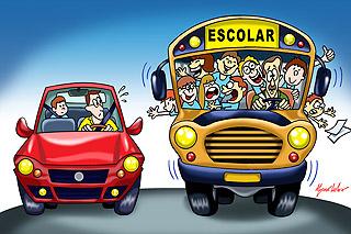 TRANSPORTE DE CRIANÇAS Ilustra_escolar