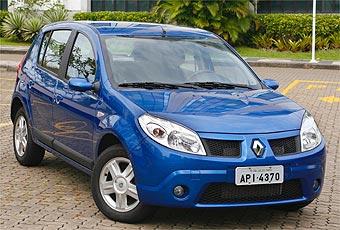 Sandero � o maior sucesso de vendas da Renault no Brasil