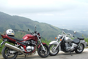 Motos de m�dia e alta cilindrada venderam mais