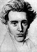 Kierkegaard, filósofo e escritor prolífico, foi um dos fundadores do existencialismo