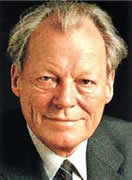 Willy Brandt ganhou o prêmio Nobel da paz em 1971