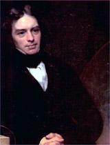 Deve-se a Faraday, a criação e divulgação de vocábulos, como aníon, cátion, íon, etc.