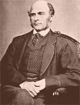 Galton estudou as aptidões e os condicionamentos hereditários e ambientais no homem