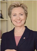 Hillary Clinton foi a primeira mulher a ocupar uma cadeira no Senado por Nova York