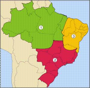 regiões geoconômicas do Brasil