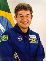 O astronauta brasileiro Marcos Cesar Pontes