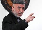 Hamid Karzai, presidente do Afeganistão