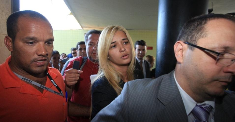 A suposta amante do goleiro Bruno, Fernanda Gomes Castro, 31