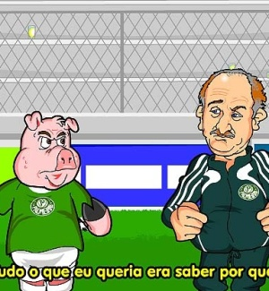 Felipo e porquinho cantam crise no Verdo