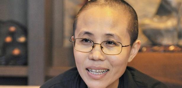 Liu Xia, mulher do ativista chinês Lu Xiaobo, ganhador do Prêmio Nobel da Paz 2010