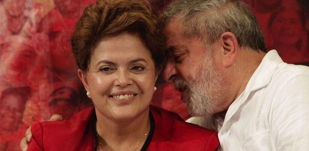 Lula e a presidente eleita, Dilma Rousseff, estiveram juntos em evento de catadores em SP