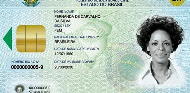 O Ministério da Justiça lançou hoje o Registro de Identidade Civil (RIC), que deverá substituir o RG