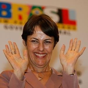 Ana de Hollanda, irmã de Chico Buarque, assumiu o Ministério da Cultura na gestão de Dilma
