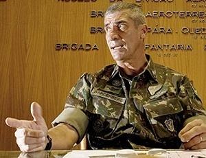 Fernando Sardenberg é o comandante da Força de Pacificação dos complexos do Alemão e da Penha