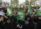 Protestos contra Ahmadinejad -Ir�, 2009