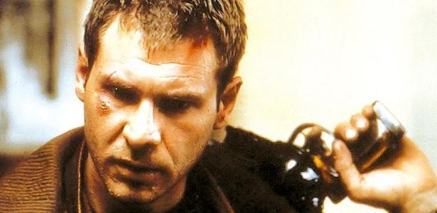 Harrison Ford em cena de Blade Runner