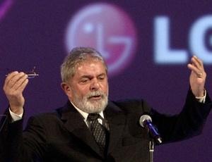 Lula em sua primeira palestra após deixar o poder