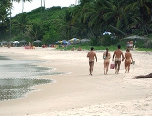 Tambaba Nudist Beach, Brazil