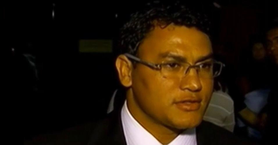 O político e ex-boxeador Acelino Popó Freitas