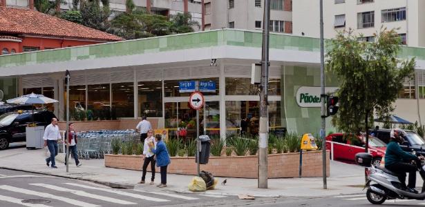 Região da avenida Angélica, no bairro de Higienópolis, onde seria construído o metrô