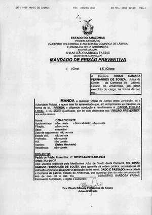 Reprodução/Ouvidoria Agrária Nacional