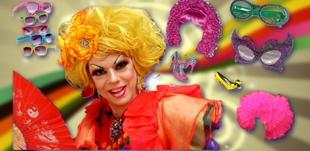 Drag queen d dicas de looks para a Parada Gay