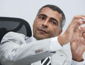 O deputado federal Romário (PSB-RJ)