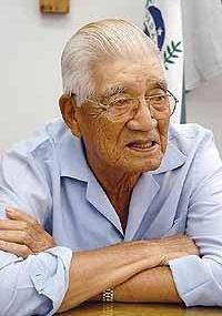 Susumo Itimura, 93, foi eleito em 2008 como prefeito mais velho do Brasil no município de Uraí (PR)