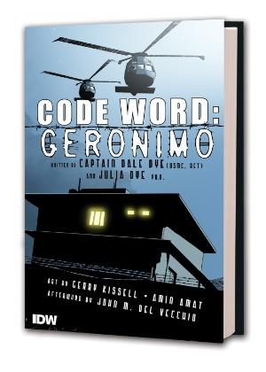 Capa do livro Code Word: Geronimo, que traz em 88 páginas os detalhes da operação que matou Bin Laden, em 1º de maio deste ano