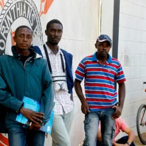 O caso de Cesare Battisti e de imigrantes do Haiti, como Rene Pierre, Jean Macdony Ermilus e Joscely Jeune (foto), chamou a atenção pela rapidez