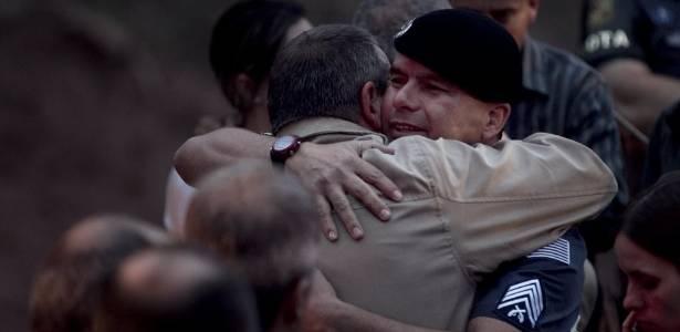 Autoridades da Rota estiveram no enterro do soldado Rodrigo Aparecido Pansani