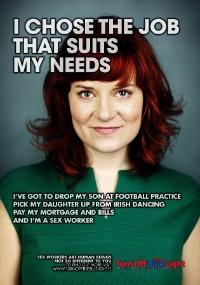 Escolhi o emprego que se adapta às minhas necessidades, diz o cartaz