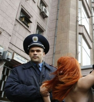 Femen faz novo protesto na Ucrnia