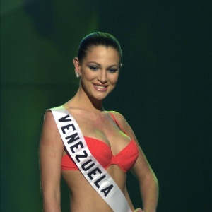 A ex-miss Venezuela Eva Ekvall