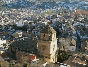 Paróquia de Nossa Senhora da Conceição, em Huelma, no sul da Espanha