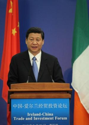 Parada de líder da China na Irlanda intriga europeus e irlandeses