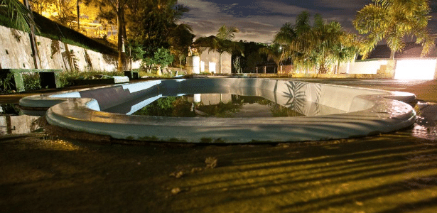 Piscina de chácara em São Bernardo do Campo, onde a criança foi encontrada
