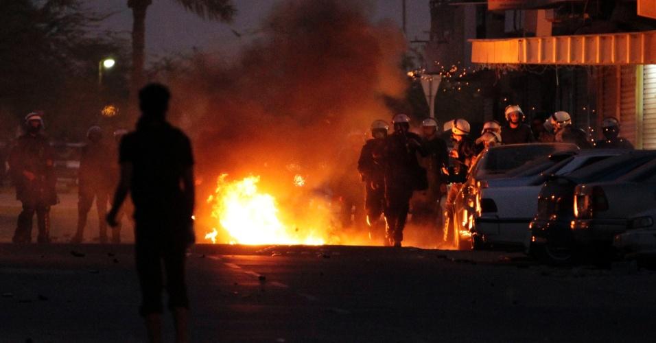 Bareinitas entram em confronto com forças de segurança em Diraz