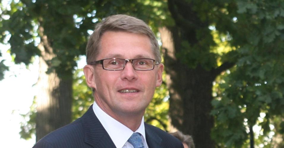 O premiê da Finlândia, Matti Vanhanen
