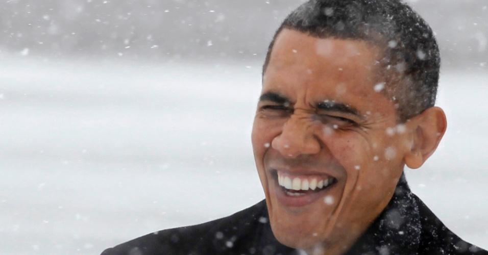 O presidente galã dos Estados Unidos, Barack Obama