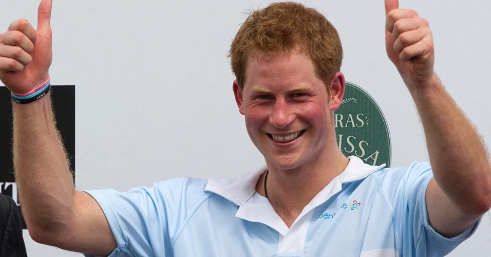 O príncipe britânico, Harry