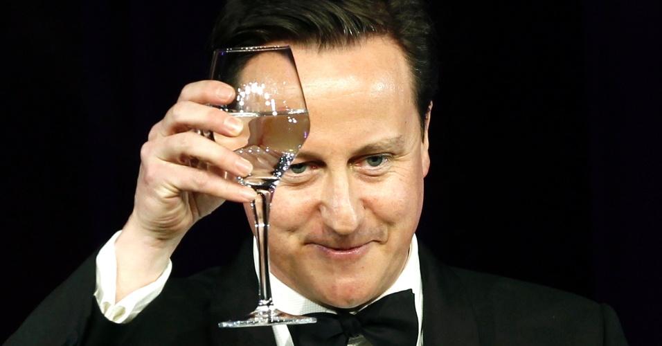 O premiê do Reino Unido, David Cameron
