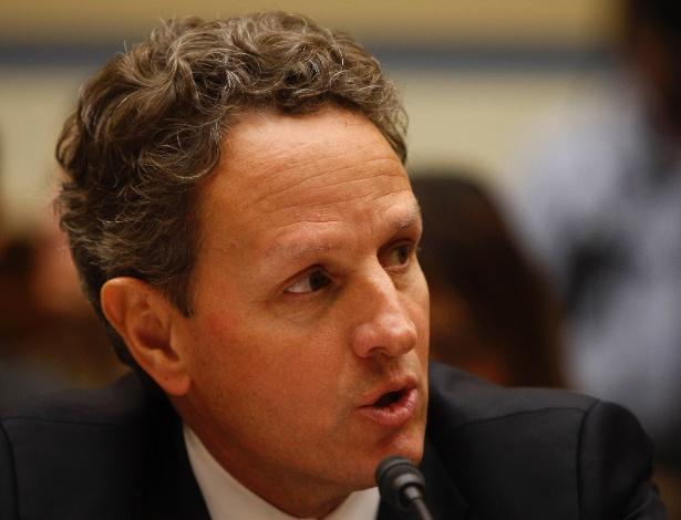 O secretário do Tesouro dos EUA, Tim Geithner