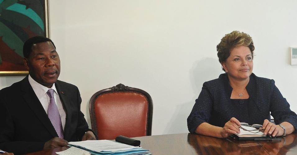 Dilma se encontra com presidente do Benin