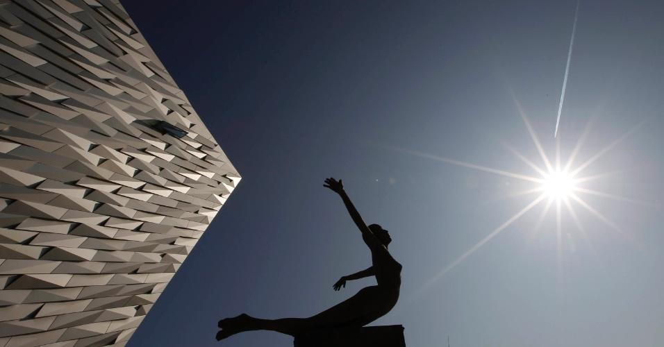 edifício Titanic Belfast, em Belfast, na Irlanda do Norte