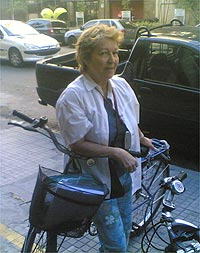 A simpática dona Maria Lúcia