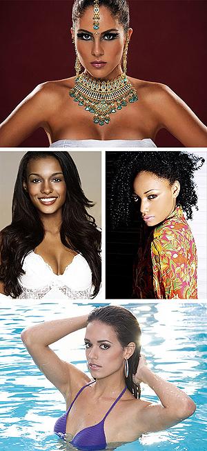Candidatas ao Miss Mundo Brasil 2009