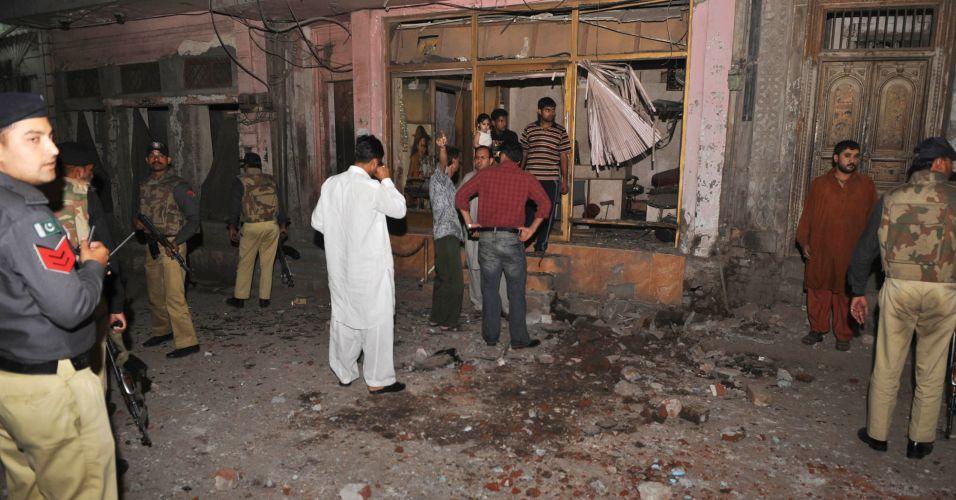 Explosões no Paquistão