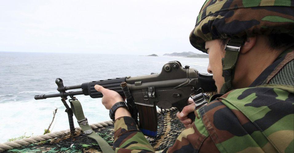 Tensão entre as Coreias  Tensão entre a...